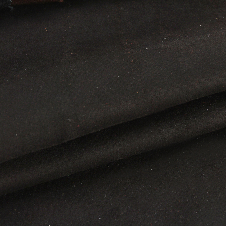 Custom color polyester suede scuba fabric composition knitting fabrics for garments