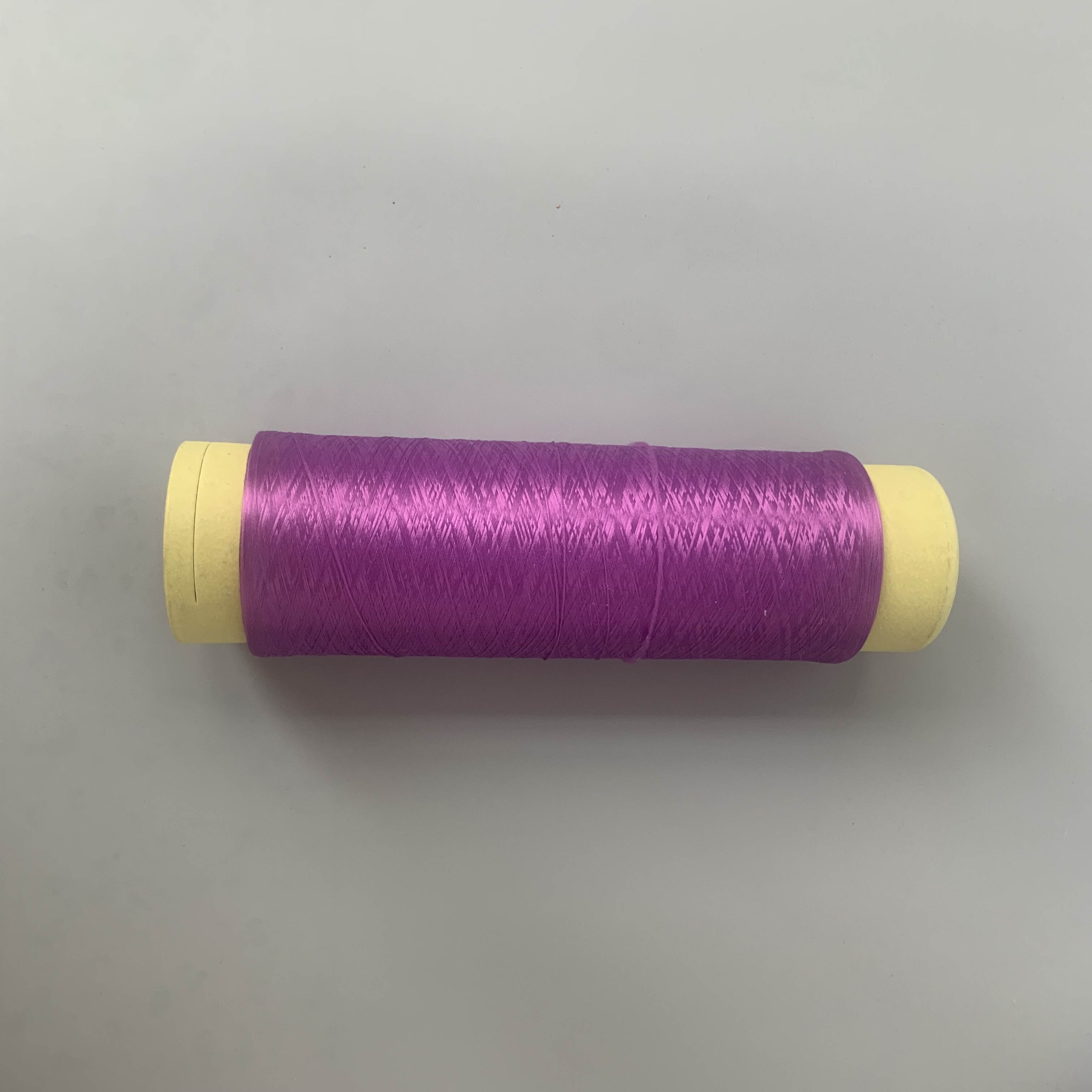 colorful 100% polyester yarn in rolls