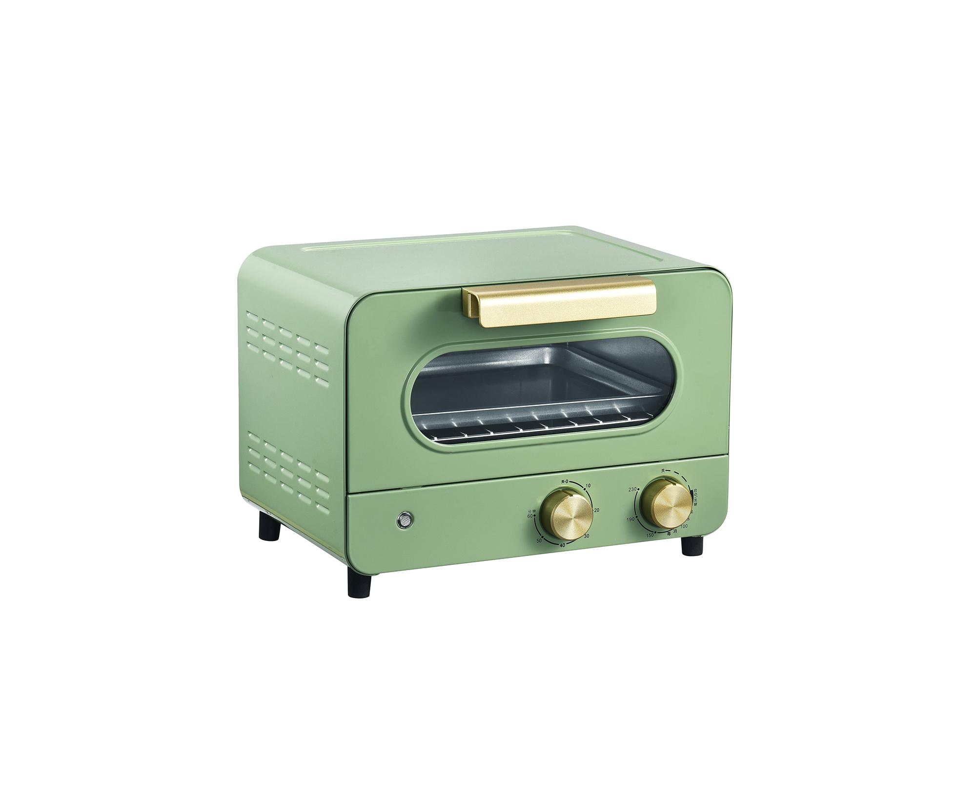 Мини-тостер в стиле ретро, 12 л