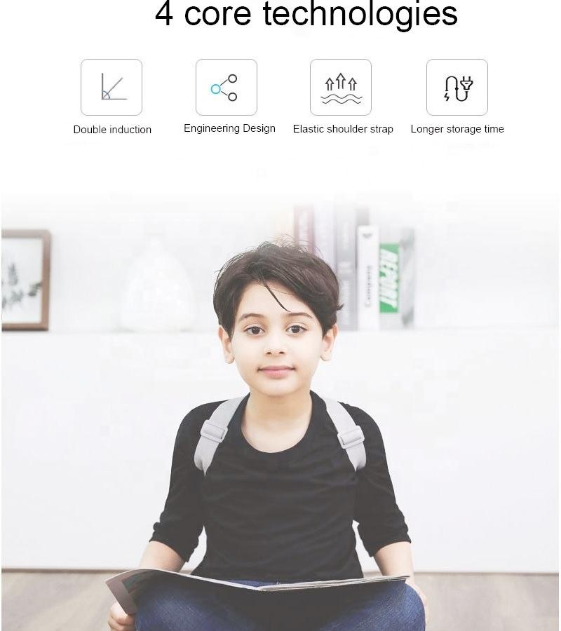 Оригинальный интеллигентая (ый) смарт-корректор осанки и тренажер осанки для ребенка Польза для здоровья и доверие строитель