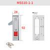 MS510-1-1 Bright chrome plating