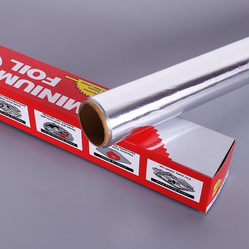Metal aluminum insulation materials 8011 aluminum foil 30-45cm width sheet roll