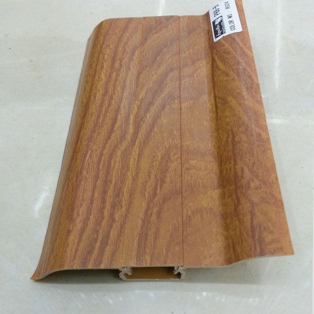 ПВХ плинтус покрытие полимерная плинтус деревянная доска