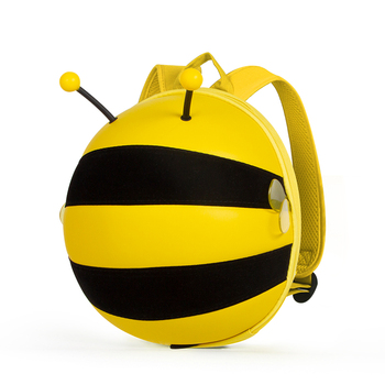 boy girl baby student kid bags for Children's gifts EVA bumble bee Yellow child bagpack