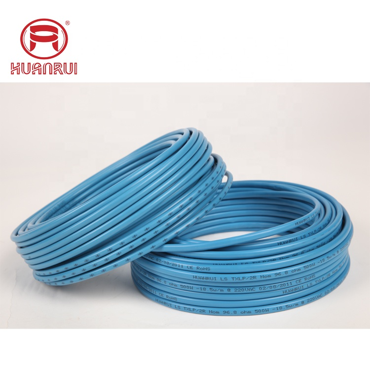 HRVP 3.65 Twin conductor underfloor electric heating cable Canadian Standards Association certificated