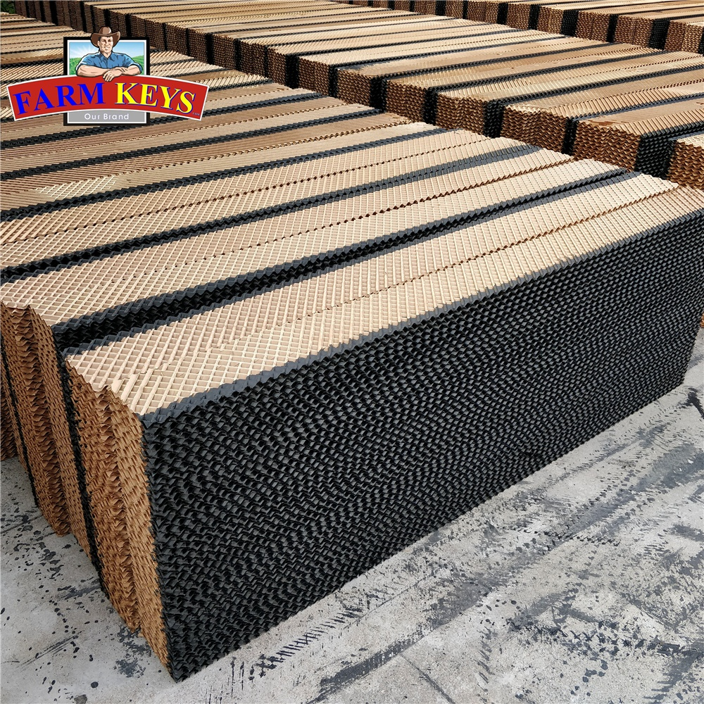 Professional manufacturer advanced chickenhouse evaporative coolingpad for poultry