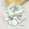 creamy white five petals3.6*3.6cm