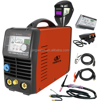 TIG 200E AC/DC PULSE aluminu welding machine, with 2t 4t function, Tig Welder