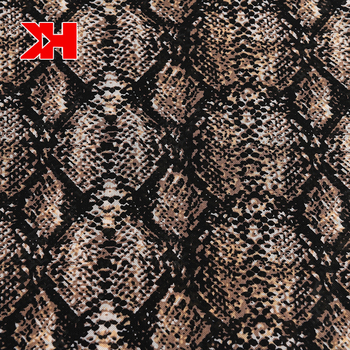 High quality POLY MESH PRINT 115GSM Knitted polyester/cotton fabric for garment