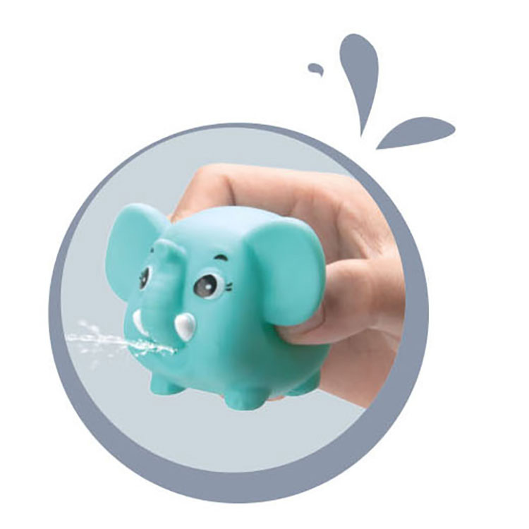 Новинка 2021, Детские Игрушки для ванны, красочная пластиковая плавающая игрушка в форме морского животного для купания в ванной комнате