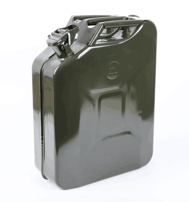Военный стиль, канистра, топливный газовый стальной бак 5/10/20 л, дизельный бензин