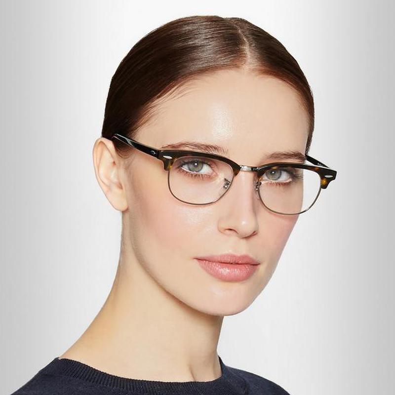 Новинка 2021, горячая Распродажа, винтажная металлическая оптическая оправа, унисекс, компьютерные оправы для очков, очки с защитой от синего света