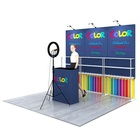 Trade Backdrop Wall Backdrop Wall Polyester Fabric Printing Backdrop Wall Display Stand For Broadcastroom And Trade Show