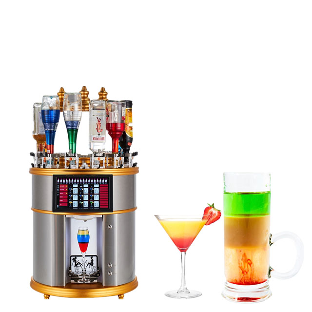 Professional fully automatic cocktail machine commercial coffee that can prepare thousands of drinks