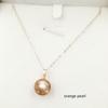 AAA Orange 10-11 round pearl