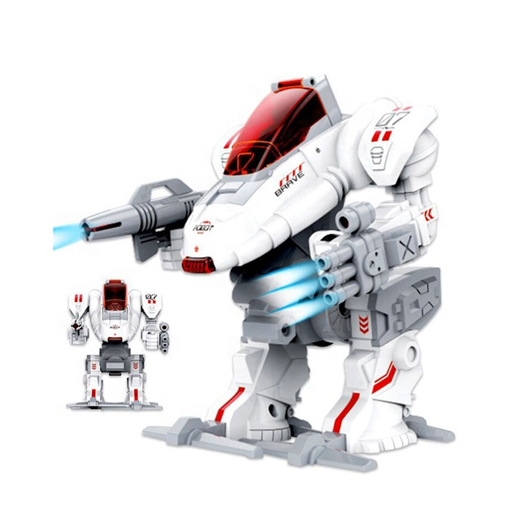 High Quality Diy Self-assembly Robot Warrior Simulation Walking Assembly Toy Model For Kids