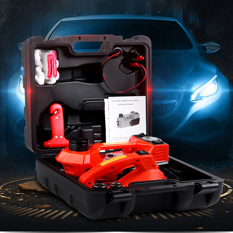 High Quality 12v Electric Hydraulic Floor Jack 3 in 1 Car Electric Jack