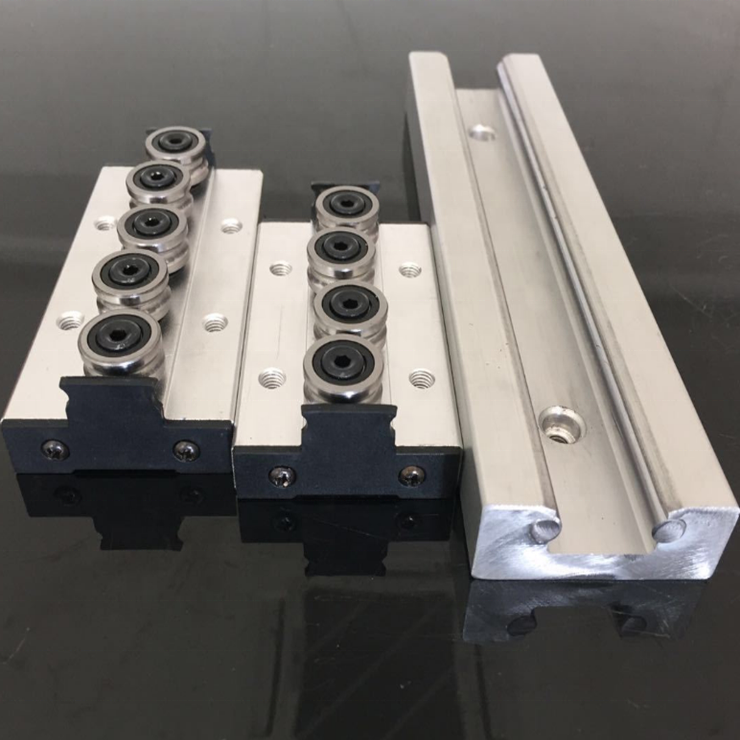 SGR20 double axis linear guide +SGB20UU slide block for linear motion system