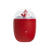 Winter Gift Cute Snowman 6000mAh Battery Power Bank Portable Heater Pocket USB Rechargeable Hand Warmer with Night Light