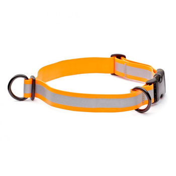 Custom Waterproof Traction Collar PVC Coated Webbing With Reflective Strap Clean Dog Collars For Pet Products