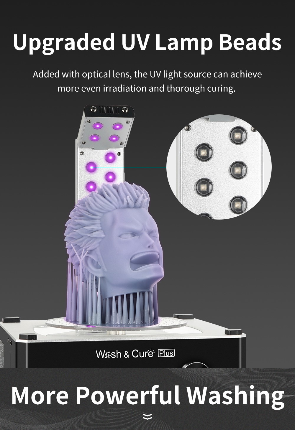 Anycubic Factory Wholesale Upgraded Large Wash & Cure Plus Machine