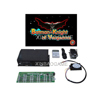 Coin/Bill/Token/Ticket Operated Fishing PCB Game Batman-Knight of Vengeanca Fish Game Machine