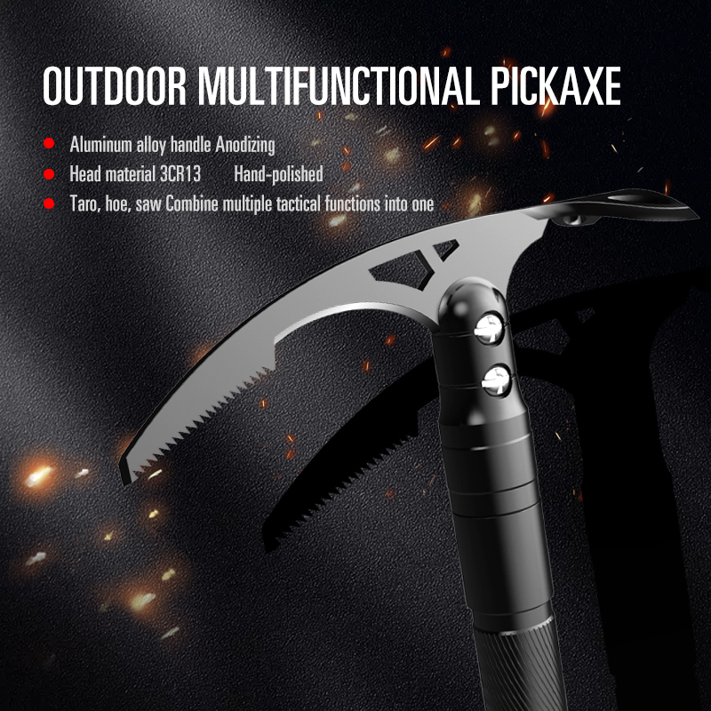 New Double Sided Multifunctional Pickaxe