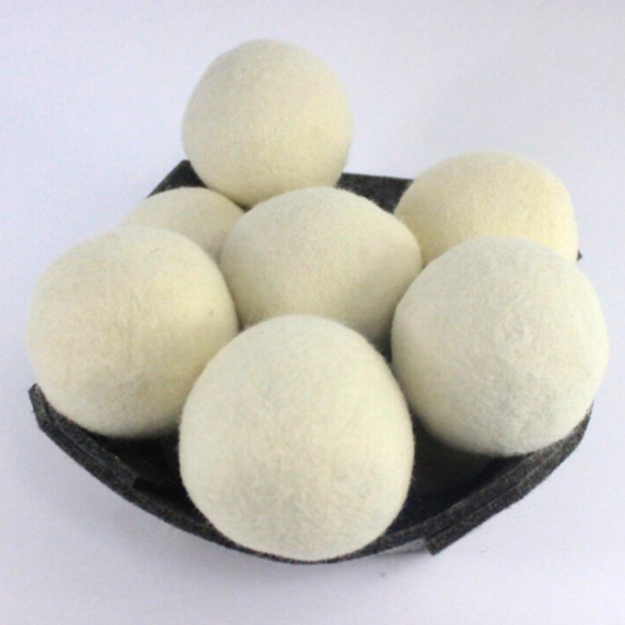 Сушилка из Восточной Зеландии, многоразовая сушилка из натурального войлока, ваты, ваты, шарики для сушки овечьей шерсти