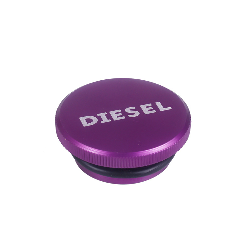 Car refitted Fuel Tank Cap Aluminum alloy with magnetic Dodge Ram diesel cover