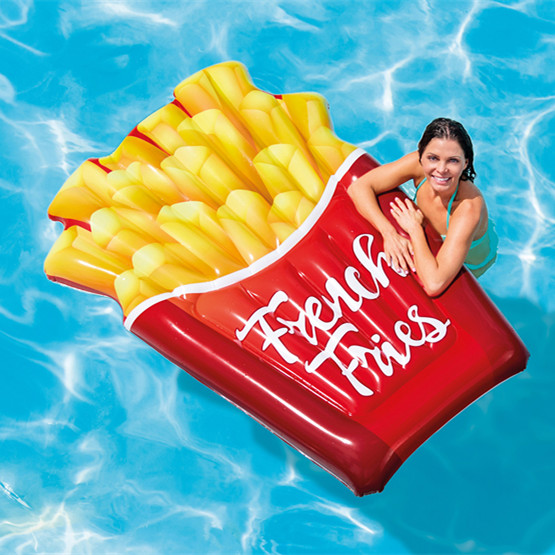 INTEX 58775 Wholesale Inflatable French Fries Water Pool Float Mattress