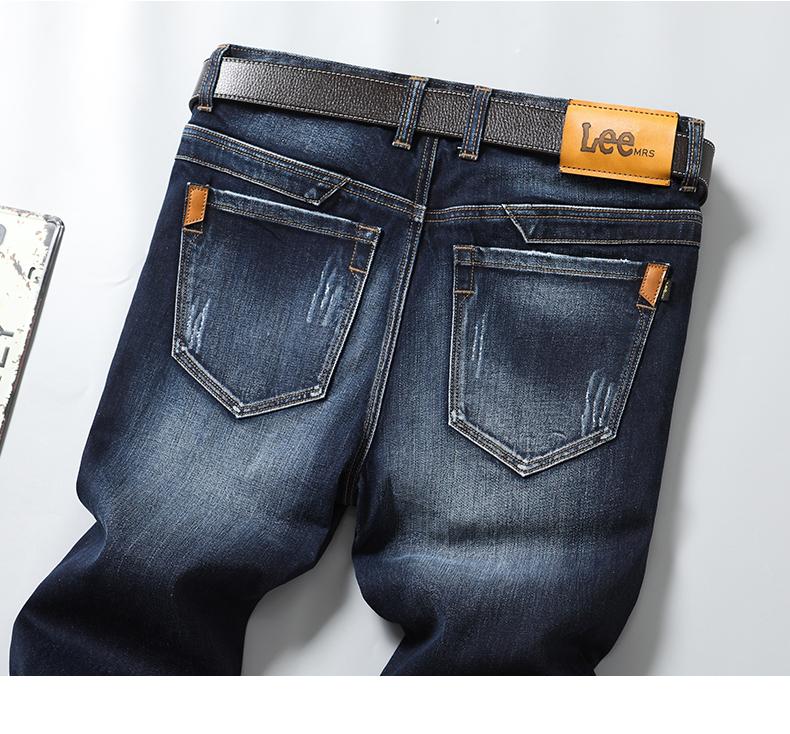 Pantalones Vaqueros Clasicos De Tiro Medio Para Hombre Pantalones De Mezclilla Rectos Comodos Holgados Buy Negocios De Ropa Los Hombres Pantalones De Mezclilla Vaqueros Rectos Product On Alibaba Com