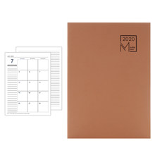 2020 милый кавайный блокнот мультяшный милый дневник планировщик блокнот для подарка блокнот с календарем 48 листов(Китай)