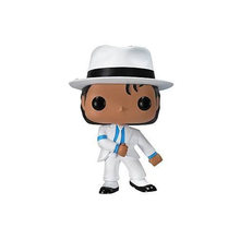 FUNKO POP New BEAT IT dangered, Майкл Джексон 24 #, Виниловая фигурка, Коллекционная модель, игрушки для детей, рождественский подарок(Китай)