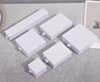 glossy white ring box 5*5*3.5cm