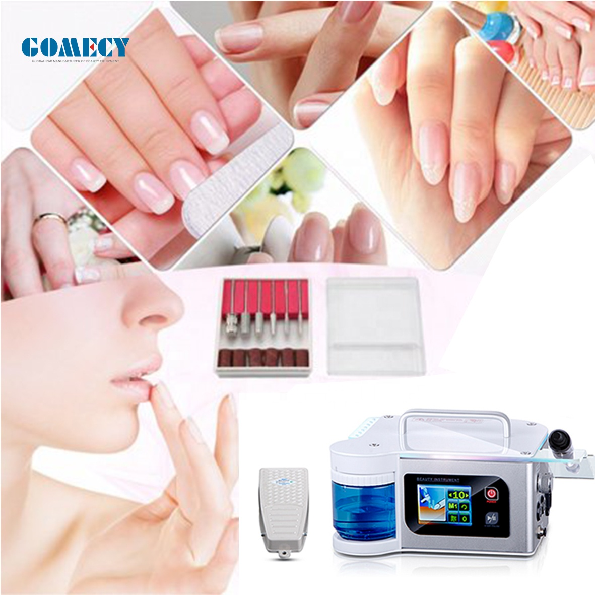 spa device Nail Drill with Water Spray Podiatry Nail Drill Electric Nail drill Pedicure Motor
