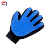 Blue left hand
