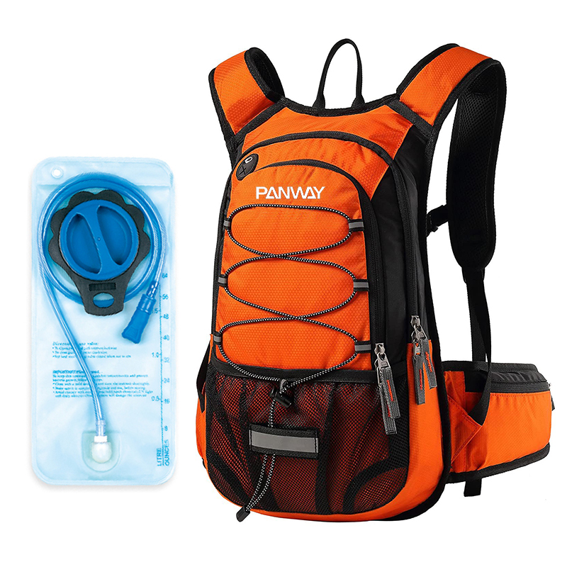 Customized bicycle running drinking pack riding 2L Water Bladder Gear Insulated Hydration vest backpack