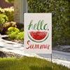 Summer Hello Flag