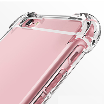 Silicone Clear TPU Case For iPhone 7 8 6s 6 Plus Cover For iPhone X XR XS MAX 12 Pro Thin Crystal Back Protect Rubber Phone