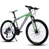 Green mountainbike