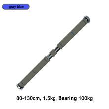 Горизонтальная стальная балка для дверей 1,2 кг, регулируемый тренировочный бар для дома, тренажерного зала, тренировки на руку, фитнес-обору...(China)