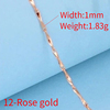 12-Rose gold