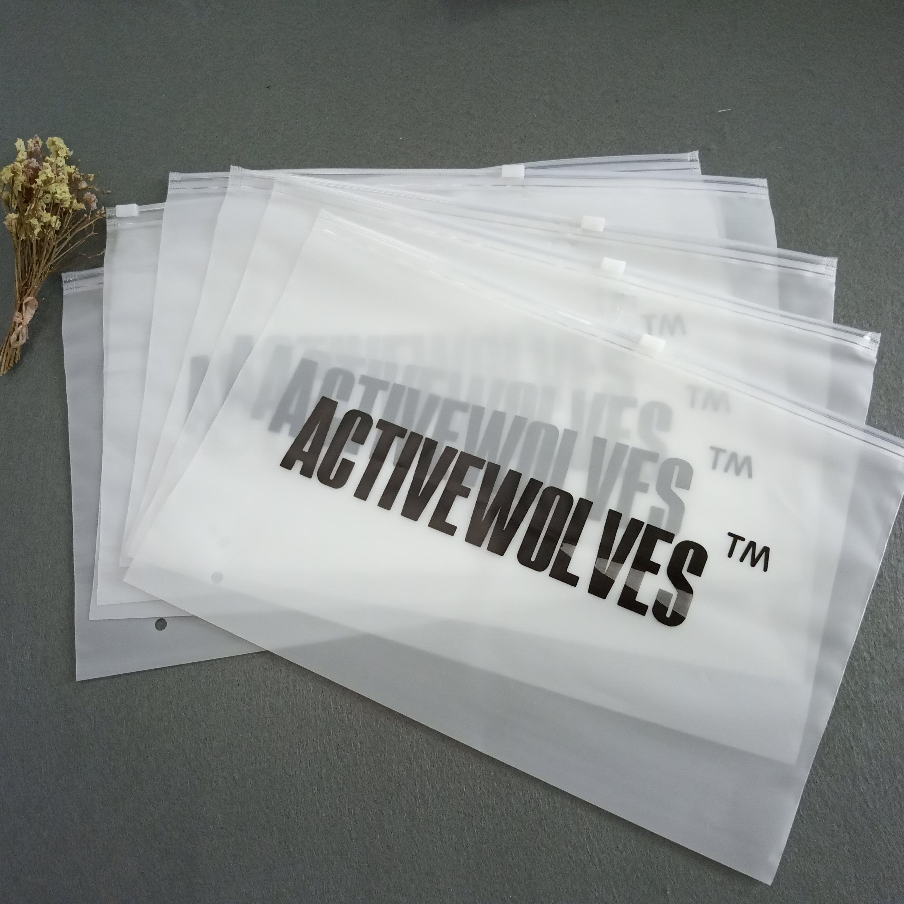 Индивидуальный дизайн, биоразлагаемый пластиковый пакет на молнии для упаковки нижнего белья, пакет на молнии, размер: 30*20 см