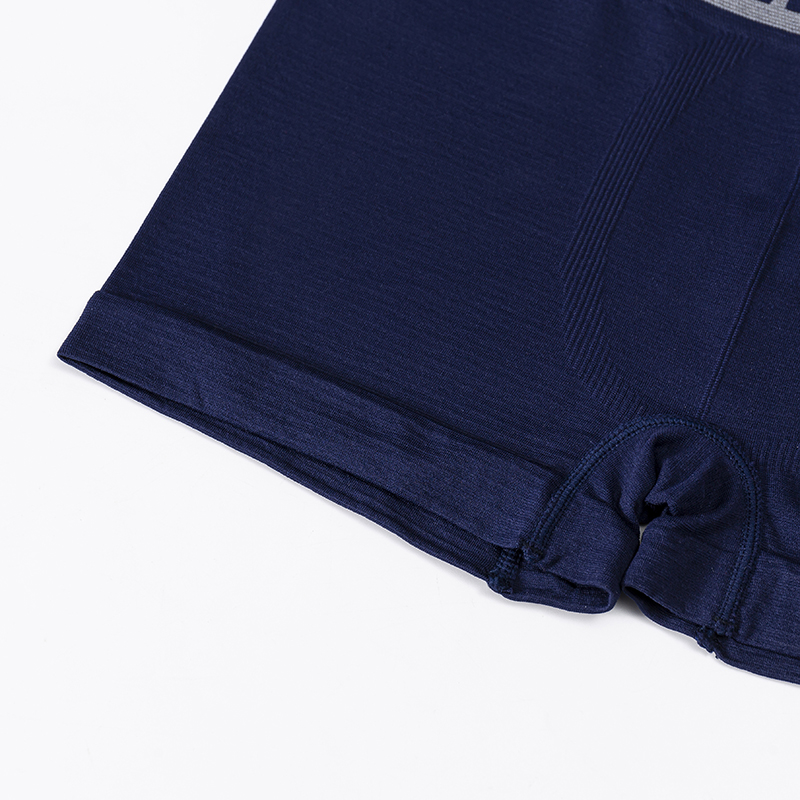 RTS002 wholesale in stock ready to ship classic polyester shorts seamless men boxer briefs seamfree trunk underwear for men