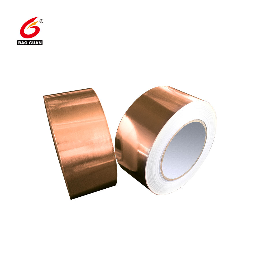 High Quality EMI Sheilding Copper Foil Tape with Conductive Adhesive