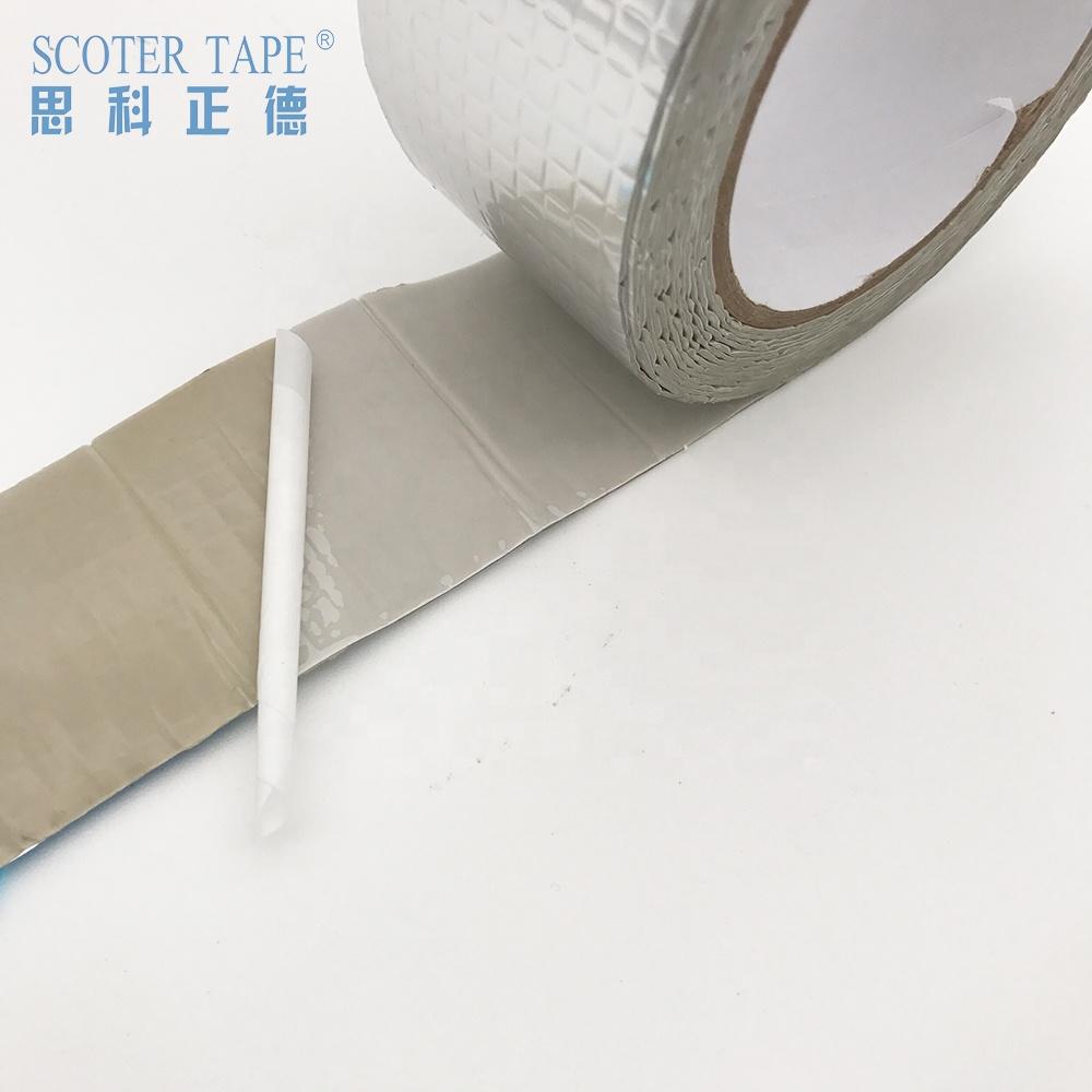 factory direct sales butyl tape hatch cover tape self adhesive bitumen waterproof tape