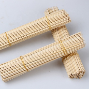 Bamboo 3.0mm*20cm Barbeque Wide Kebab Chicken Skewer Skewers Brazilian
