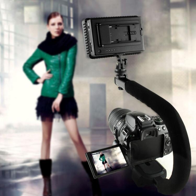 Профессиональный переносной карманный стабилизатор PULUZ U/C для экшн-камеры, контроллер камеры DSLR Vlog