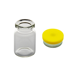 Quality assurance glass usp type 1 headspace pharmacy liquid medicine 5ml bottle with Aluminum plastic cap