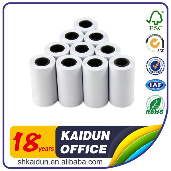 thermal paper roll 230 atm thermal paper roll 58mm x 100mm x 40mm thermal paper receipt roll